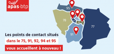 ouverture point de contact apas btp