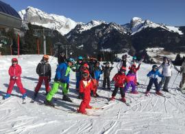 Folies Blanches en Abondance (sans cours ESF)  - hiver - 6/12 ans
