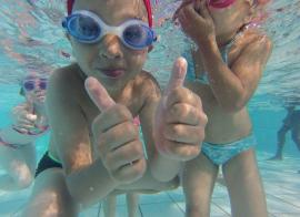 Apprendre à nager - été - 6/10 ans