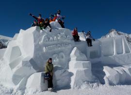 Le  glacier de Saas-Fee - hiver - 14/17 ans