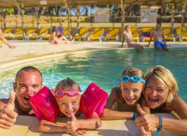 St Cyr sur Mer - Camping les Dauphins AEC vacances