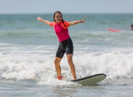 SURF' LANDES - Été - 24 jours surf - 11/14 ans