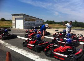 British Village - karting - été - 6/10 ans et 11/17 ans